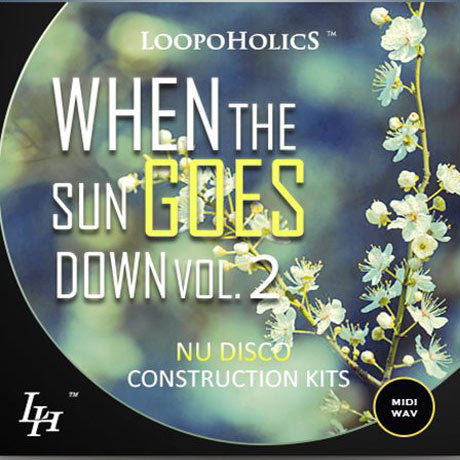 Loopoholics When The Sun Goes Down Vol.2 Nu Disco Construction Kits